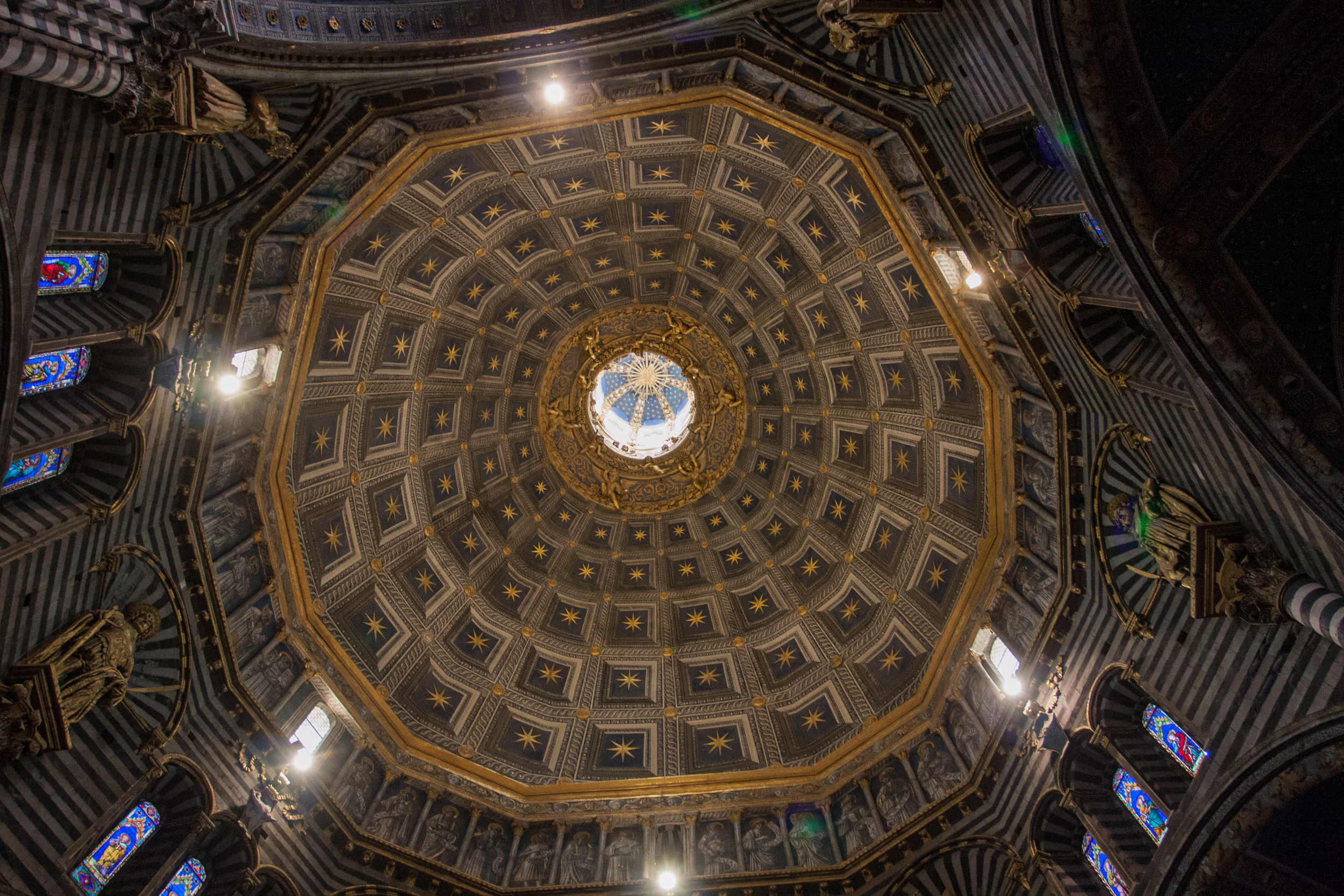 The interior of the Dome.