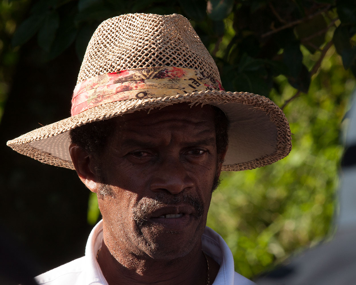 Lashi, our excellent local guide. He's been leading groups through the park since he was 15 years old!
