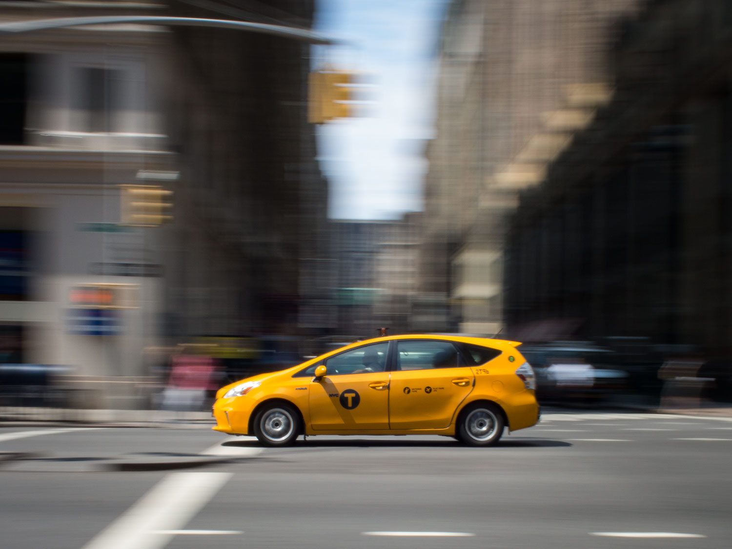 Panning at 1/25th. Unlike a DSLR, you actually see your captured image in the viewfinder for a split second.