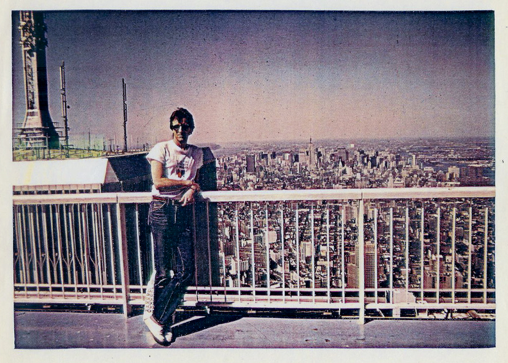 On top of the world - World Trade Towers 1978