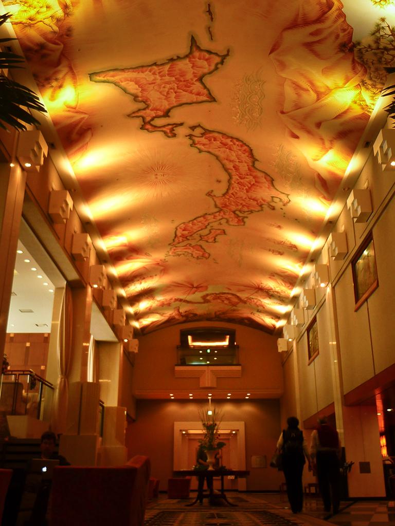 Ceiling at Renaissance Hotel