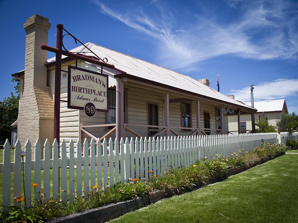Don Bradman's birthplace