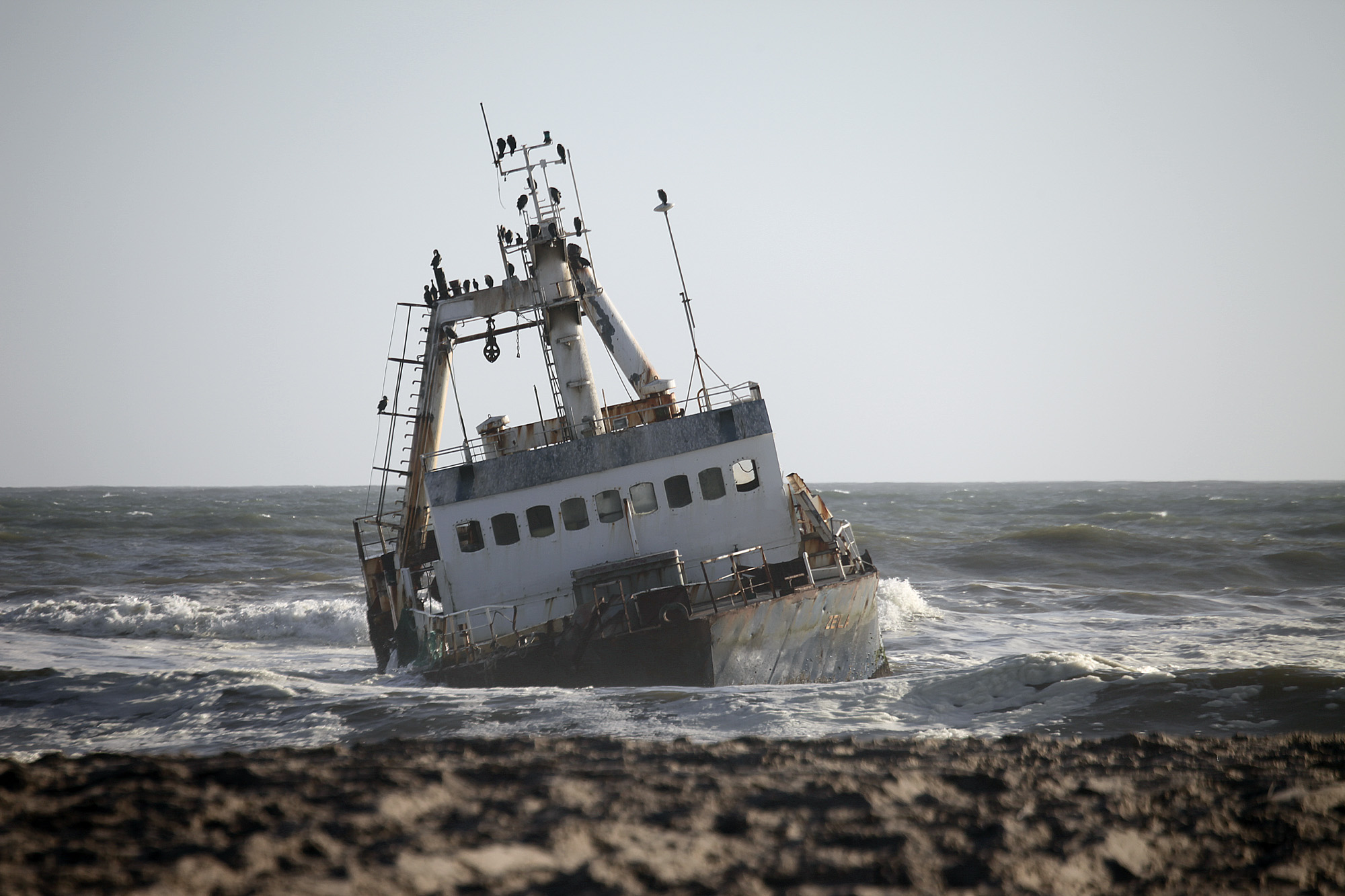 Shipwreck, I guess it really is the Skeleton Coast