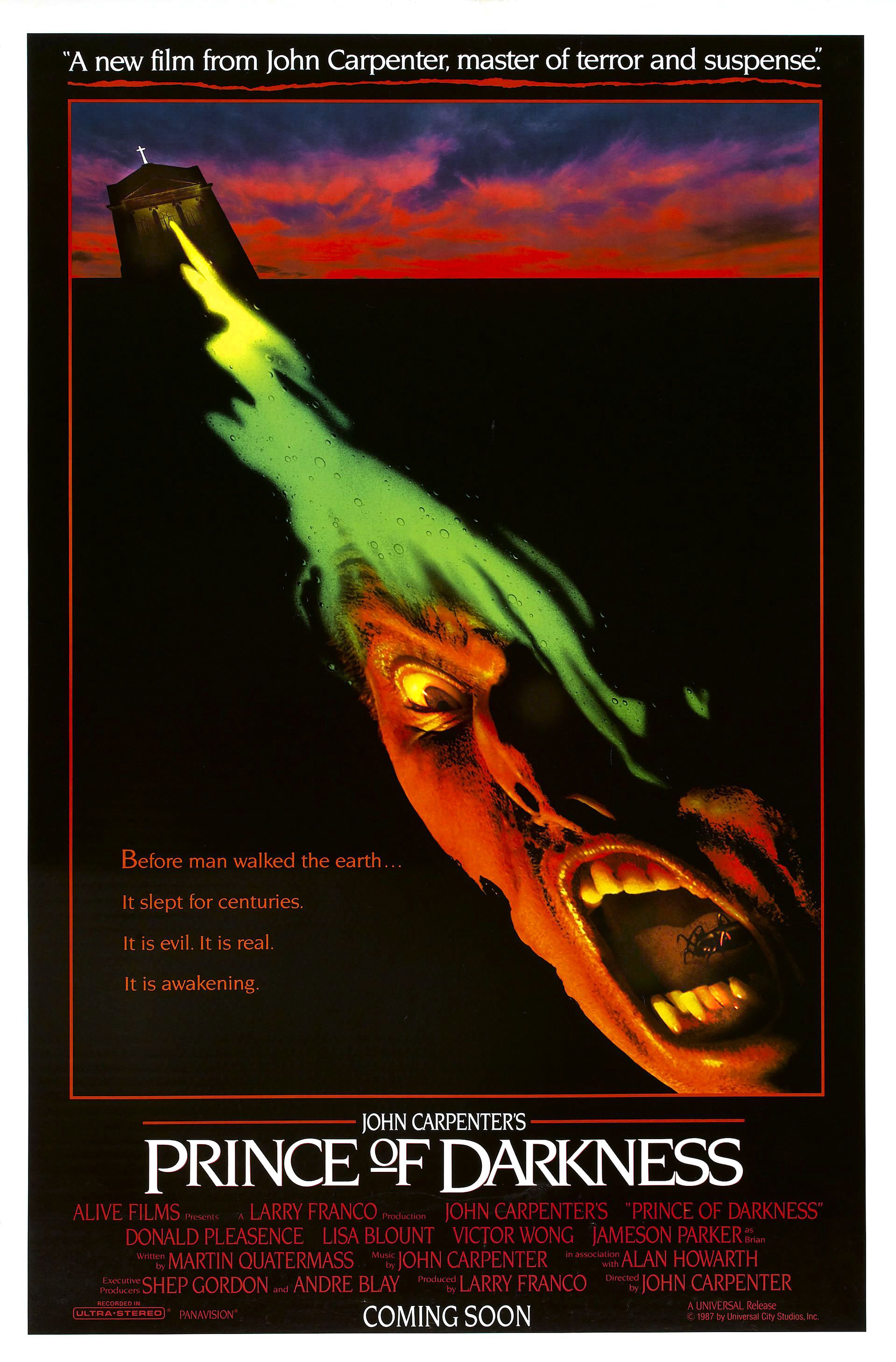 Prince of Darkness One Sheet