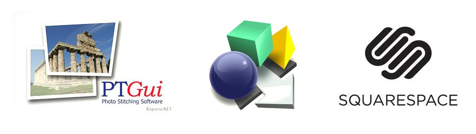 PTGui, Pano2VR and Squarespace