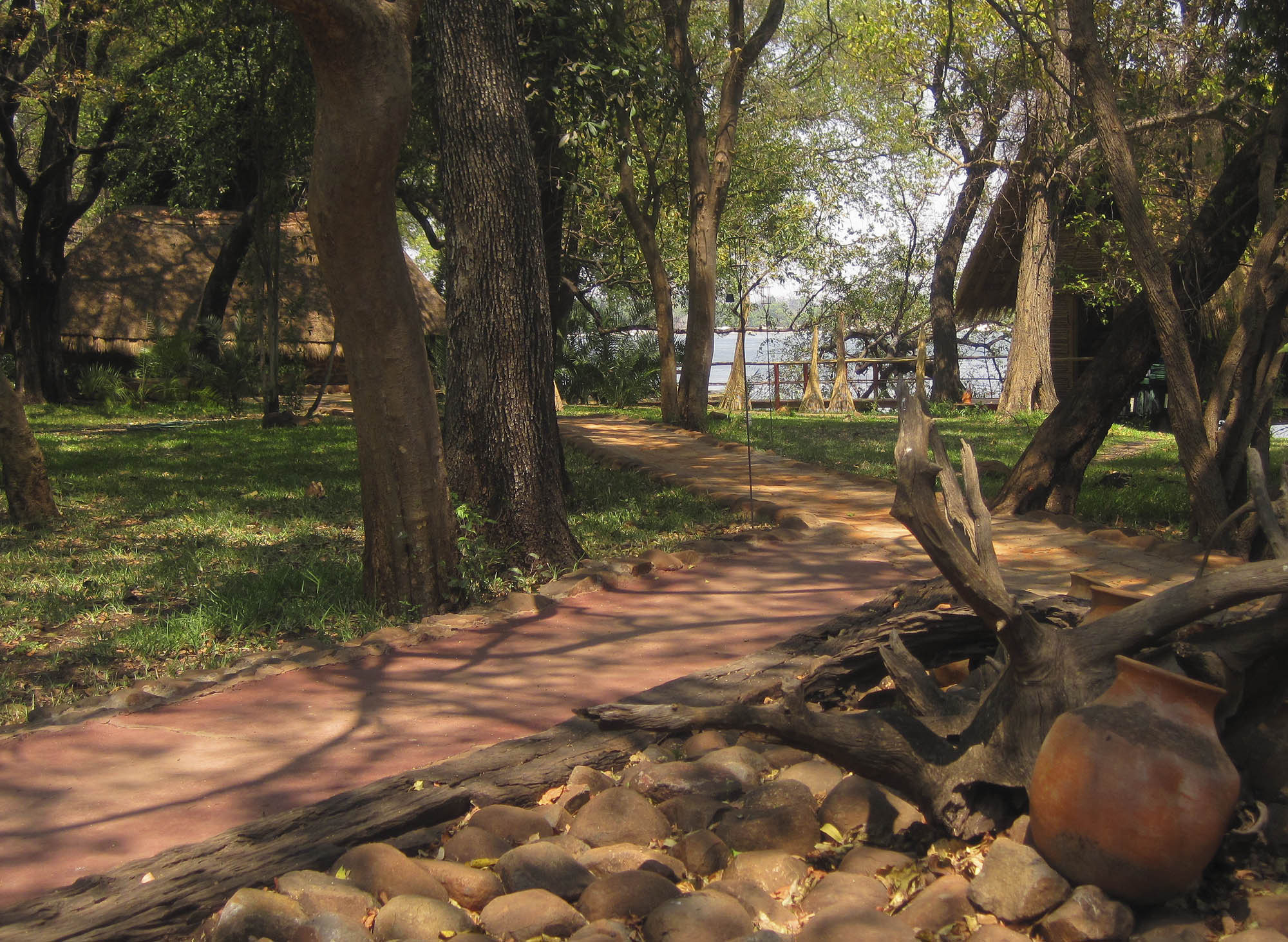 Tongabezi Lodge grounds