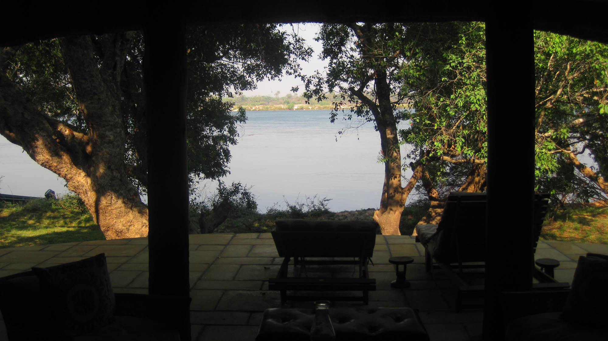 View from the Dog House to the Zambezi