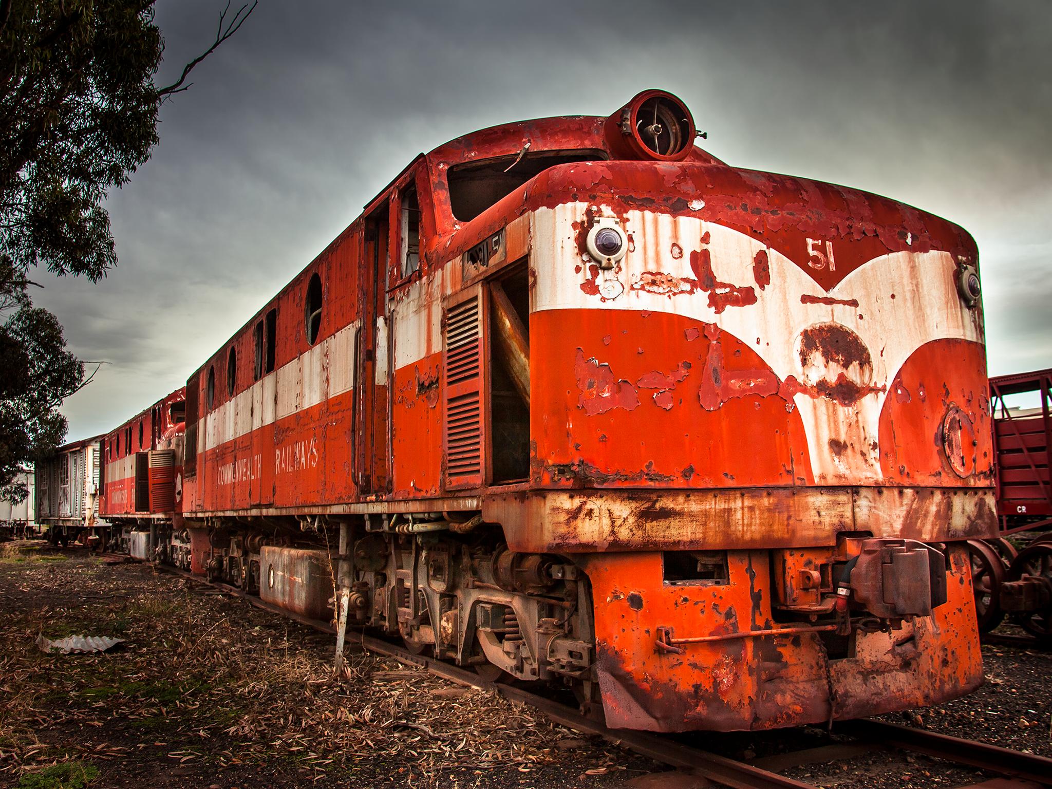 Commonwealth Railways Diesel Train