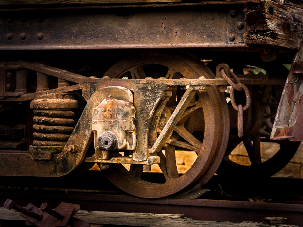 SAR rolling stock with hardware manufactured in 1911