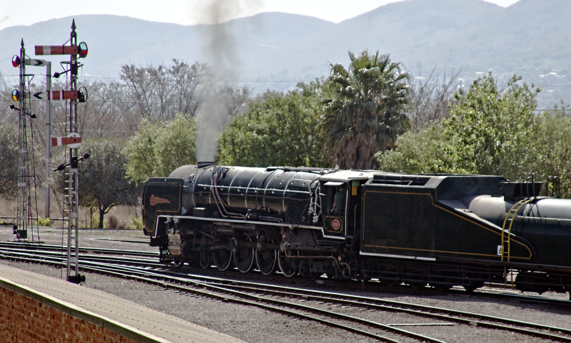 Rovos Rail Steam Train
