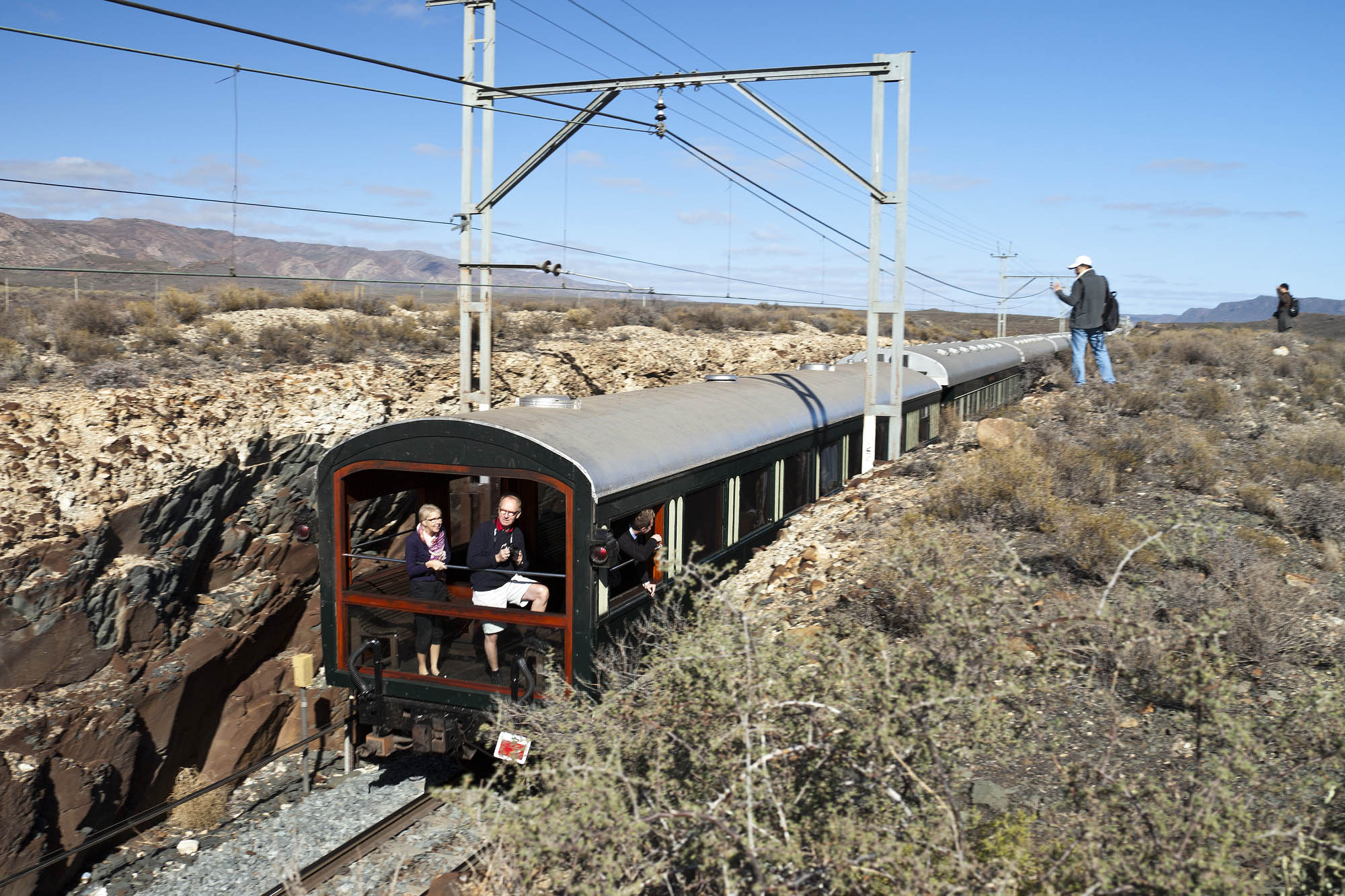A look atthe Observation Carriage
