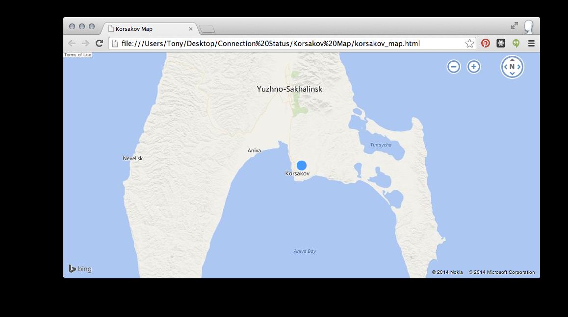 Testing the korsakov_map.html