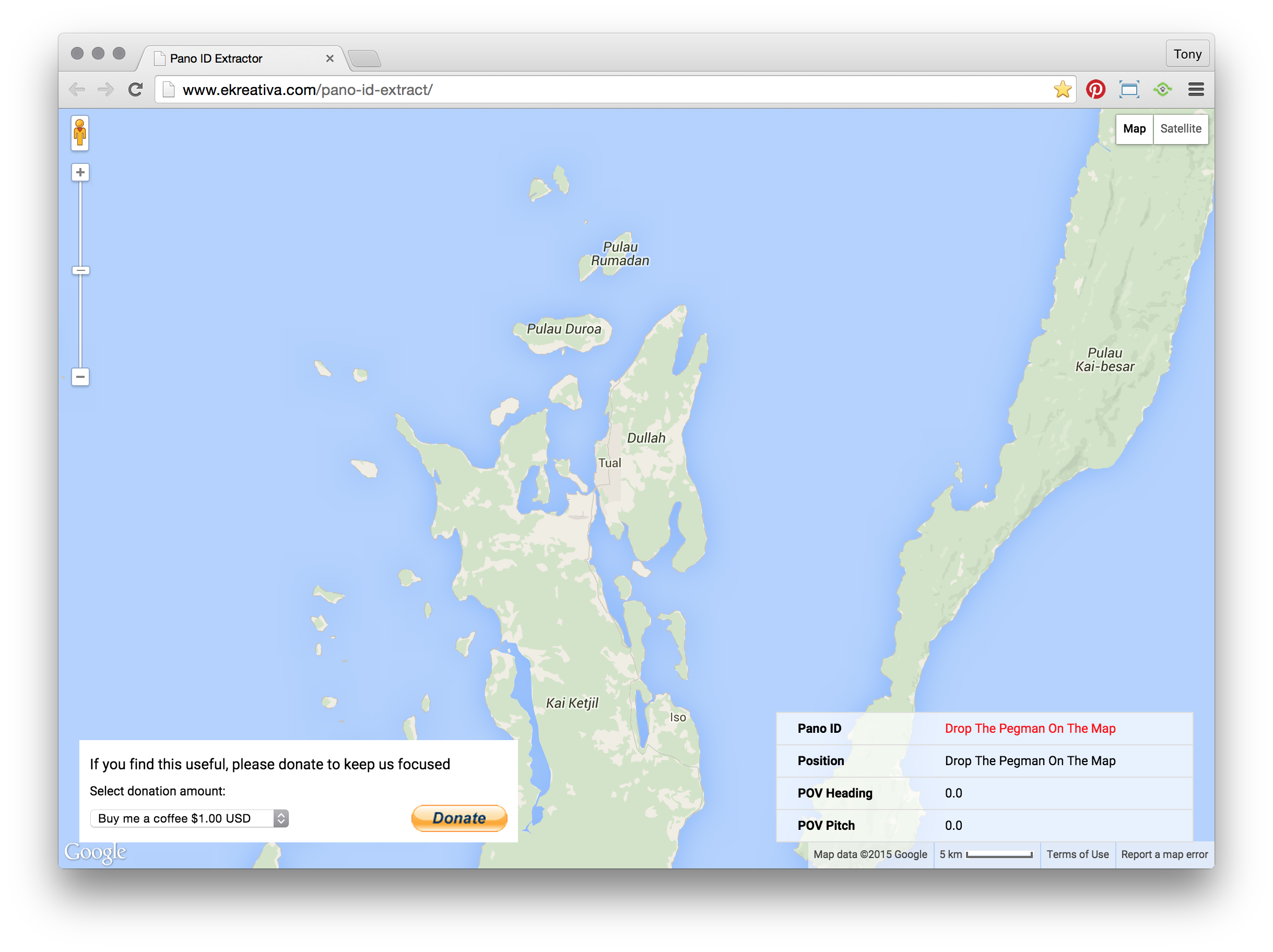 Embedding your published Map View Constellations or