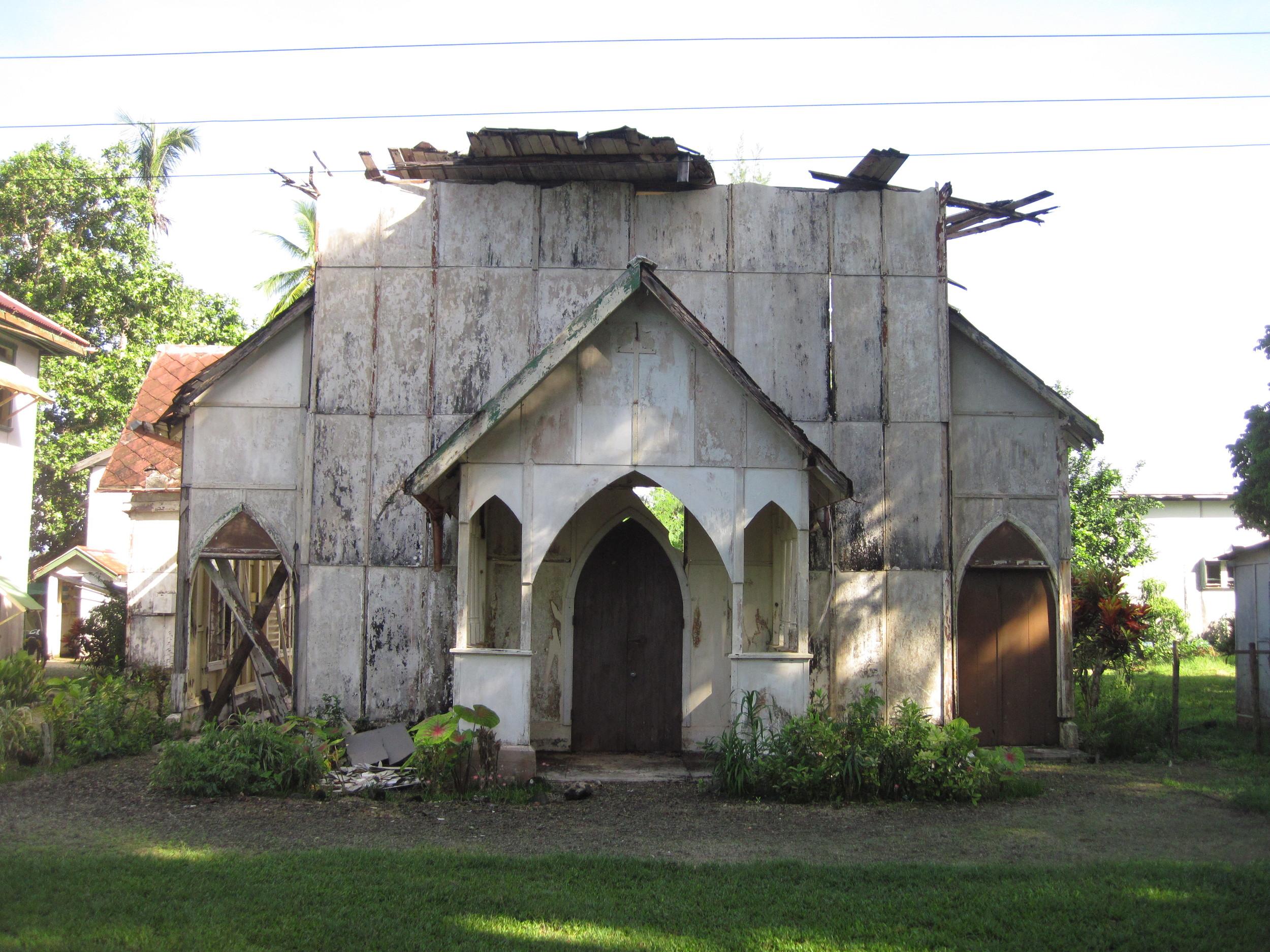 Exterior of the church 2013 - photo Mick Fogg