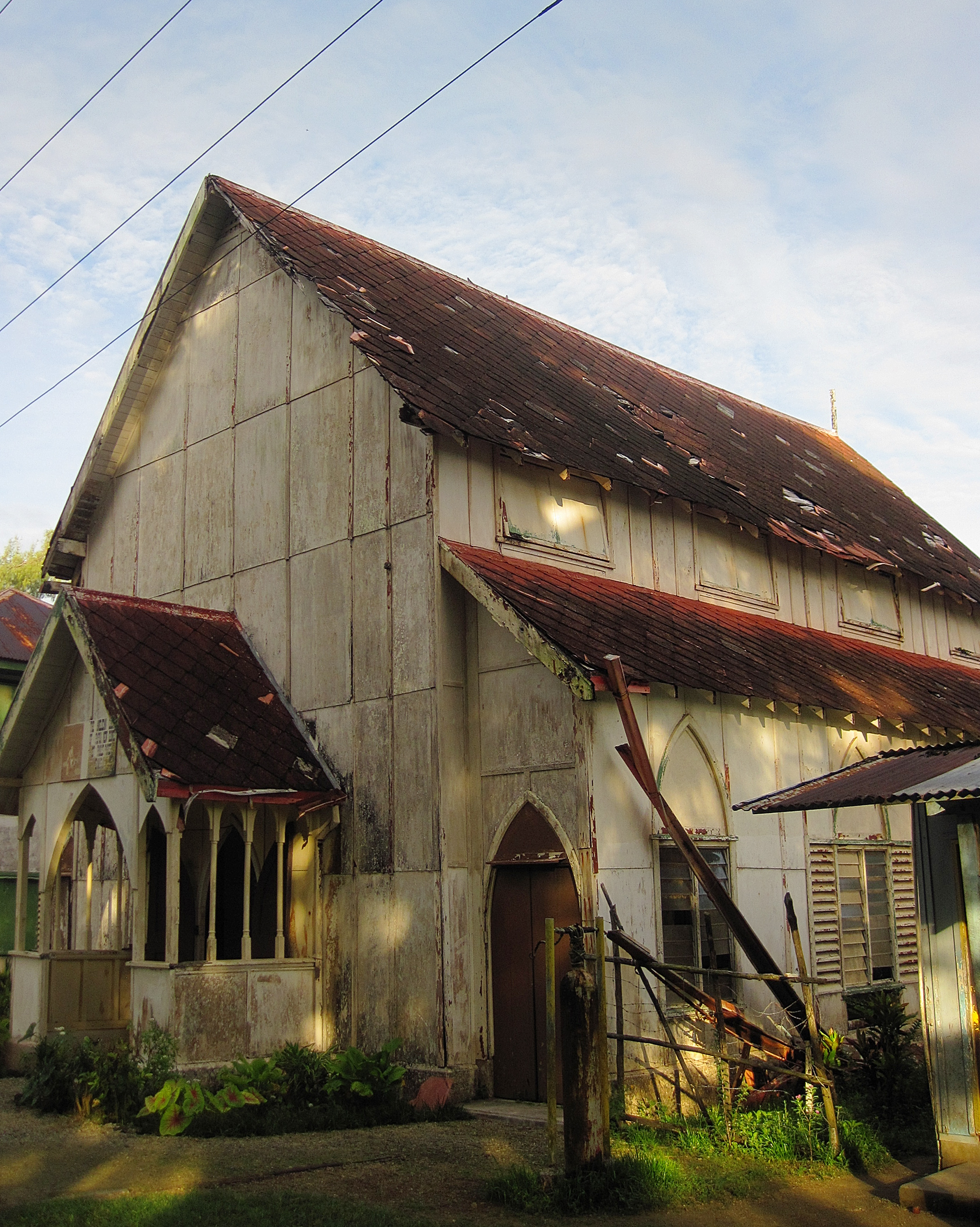 Exterior of the church 2011