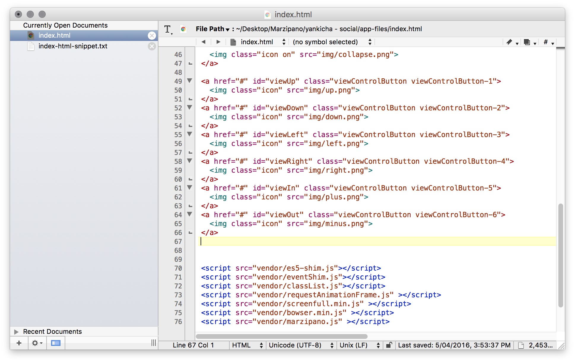 Insertion point for the index-html-snippet