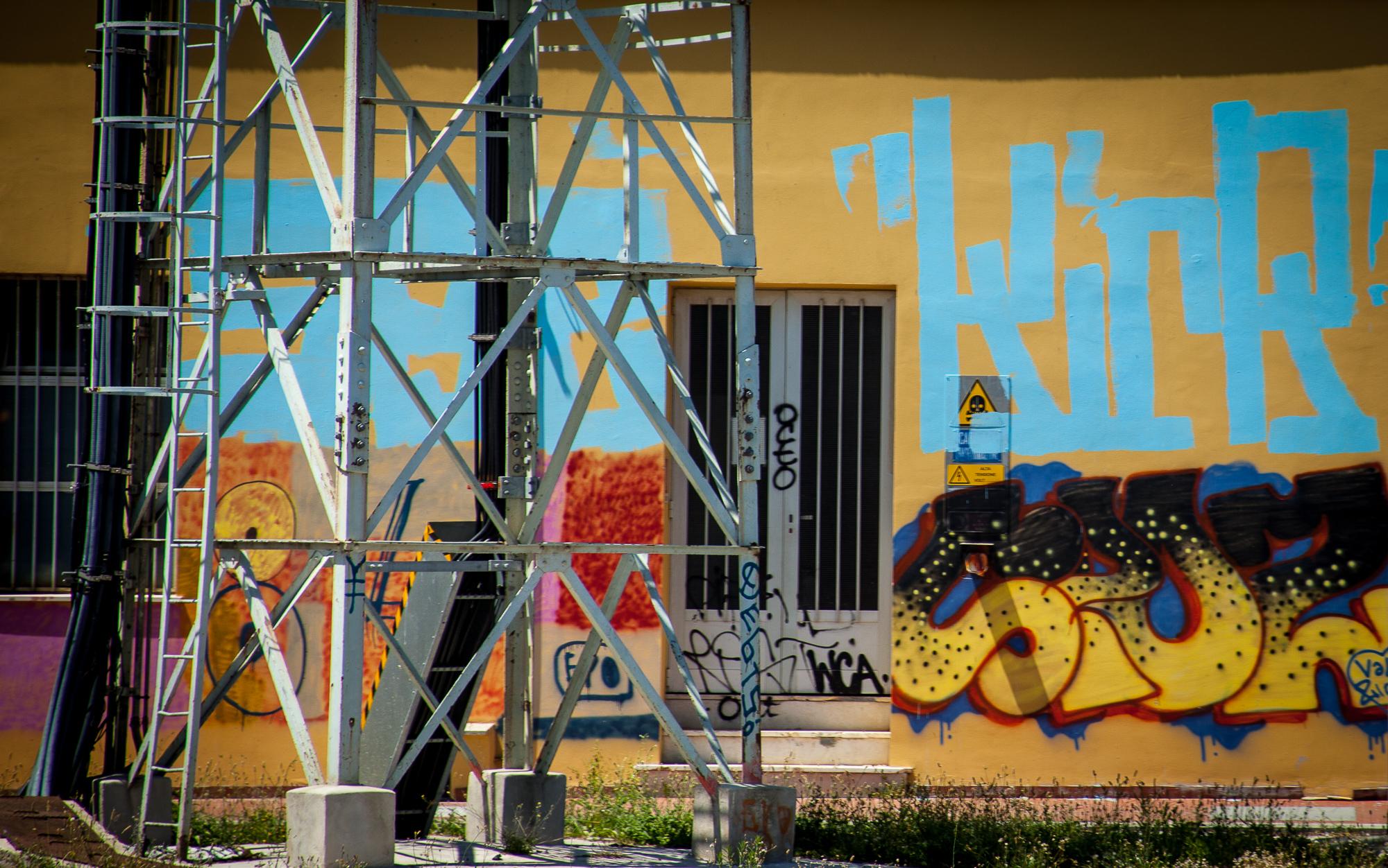 Trackside Graffitti