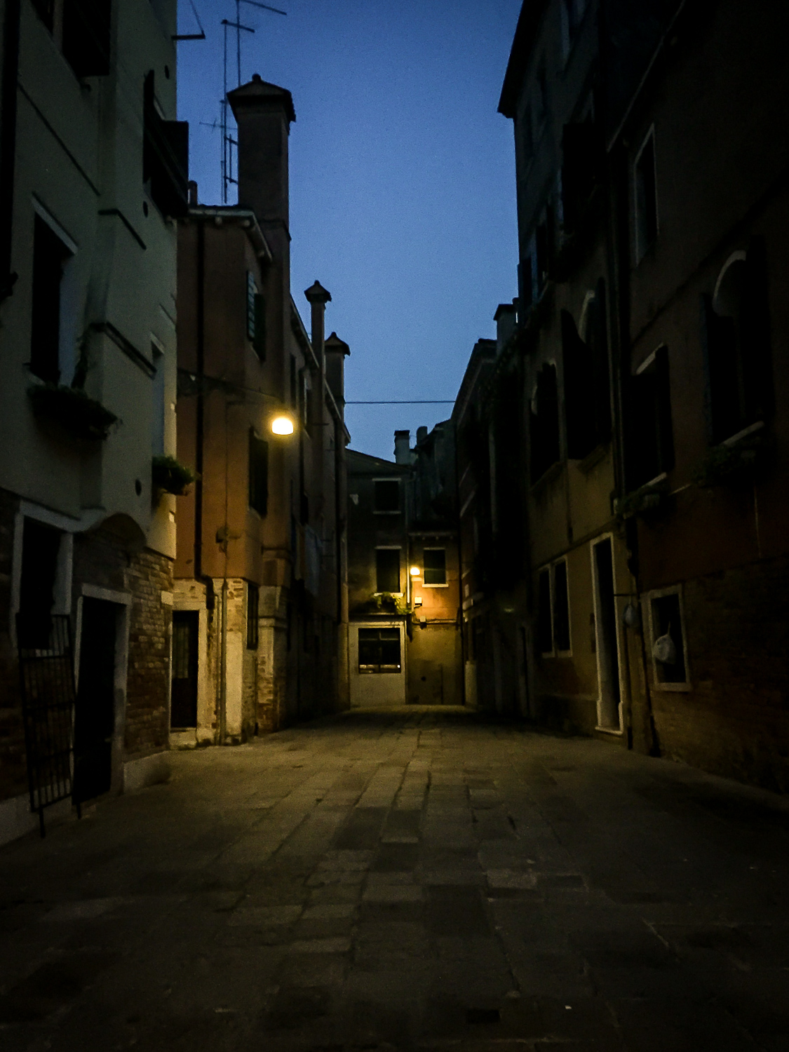 alley's at night