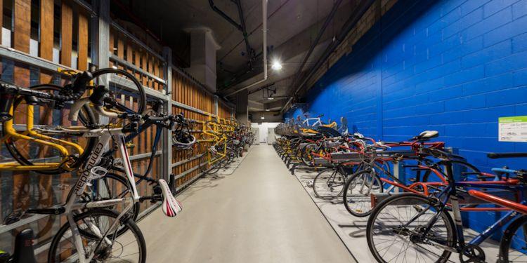 Bicycle Locker:  Equipment