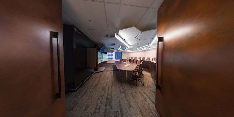 PolyCom Conference Room Entrance