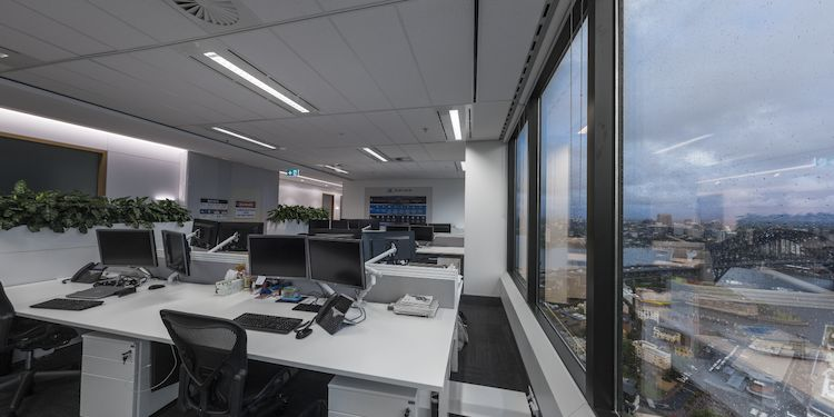 Office Fitout:  Harbour View