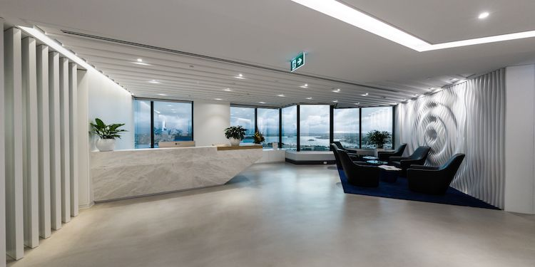 Lobby View : Wide