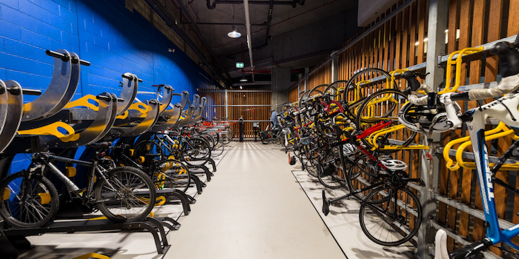 Gateway Building : Bicycle Storage & Lockers