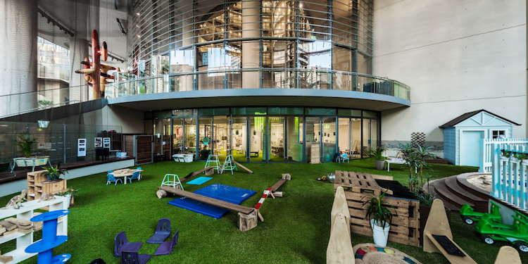 1 Bligh Street : Childspace Play Area