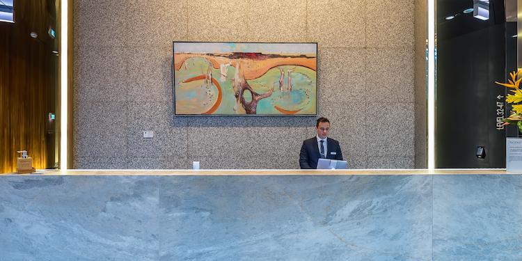 New - Gateway Building:  Concierge