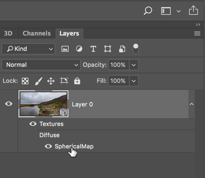 360˚ Advanced Editing in Adobe Photoshop 2018 — tony redhead