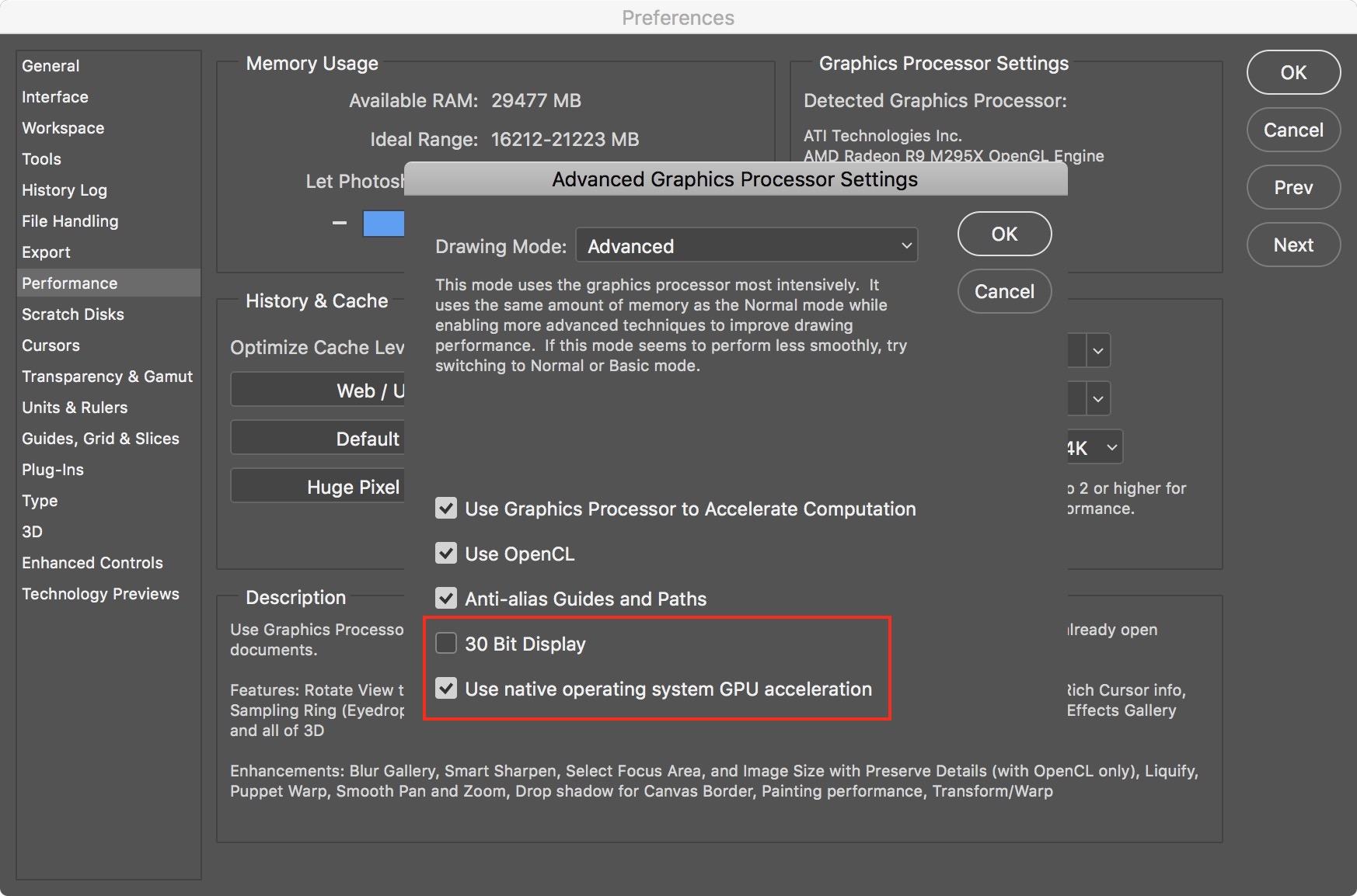 Image #6 - Use native operating system GPU acceleration