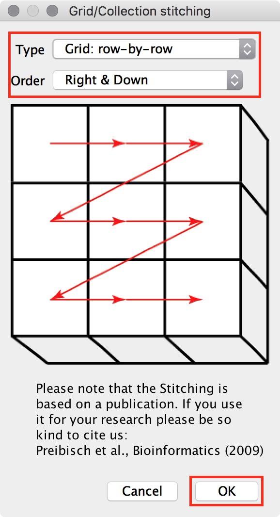 figure #4: Configuration settings