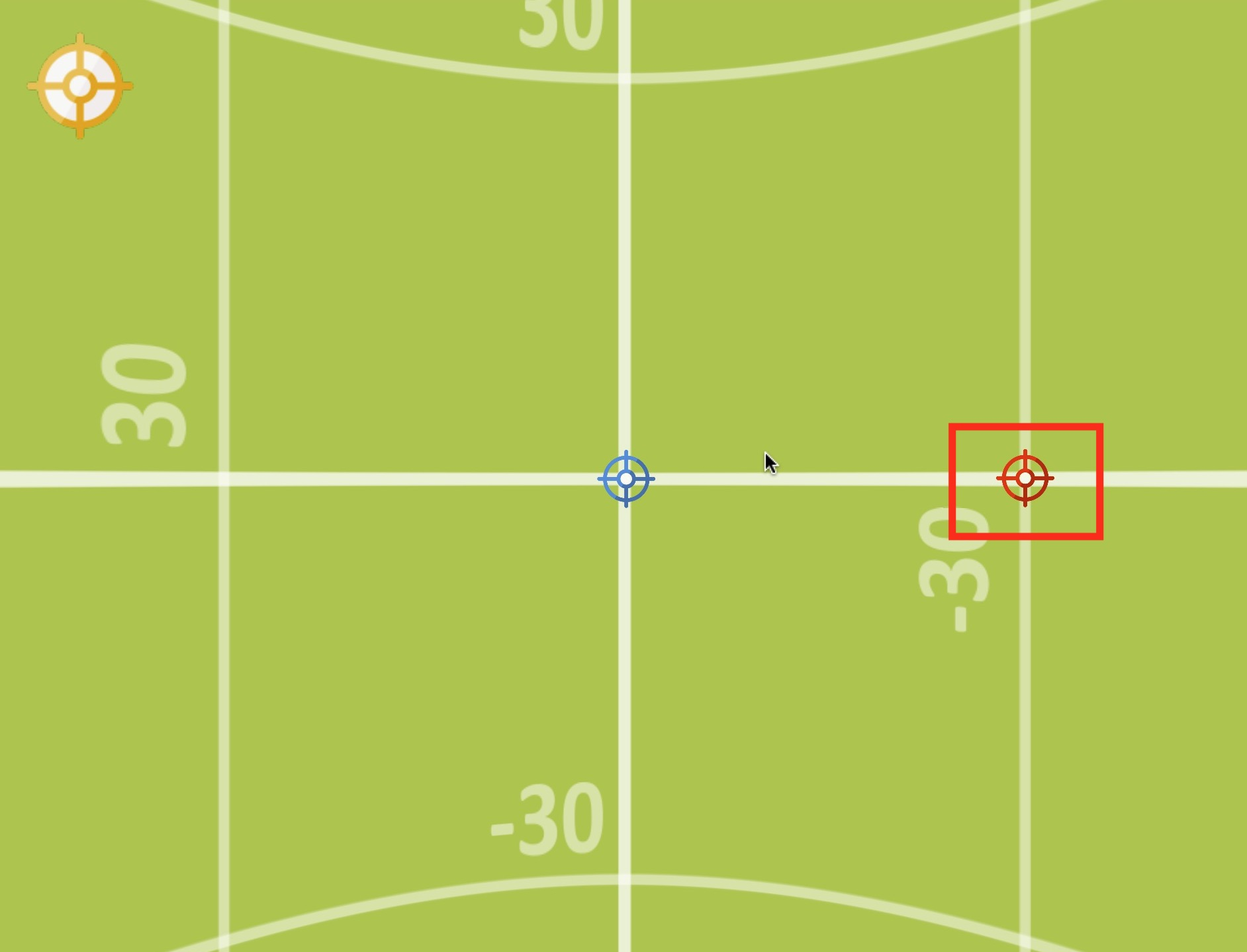 Figure #6: 2nd Point Hotspot positioned on the panorama