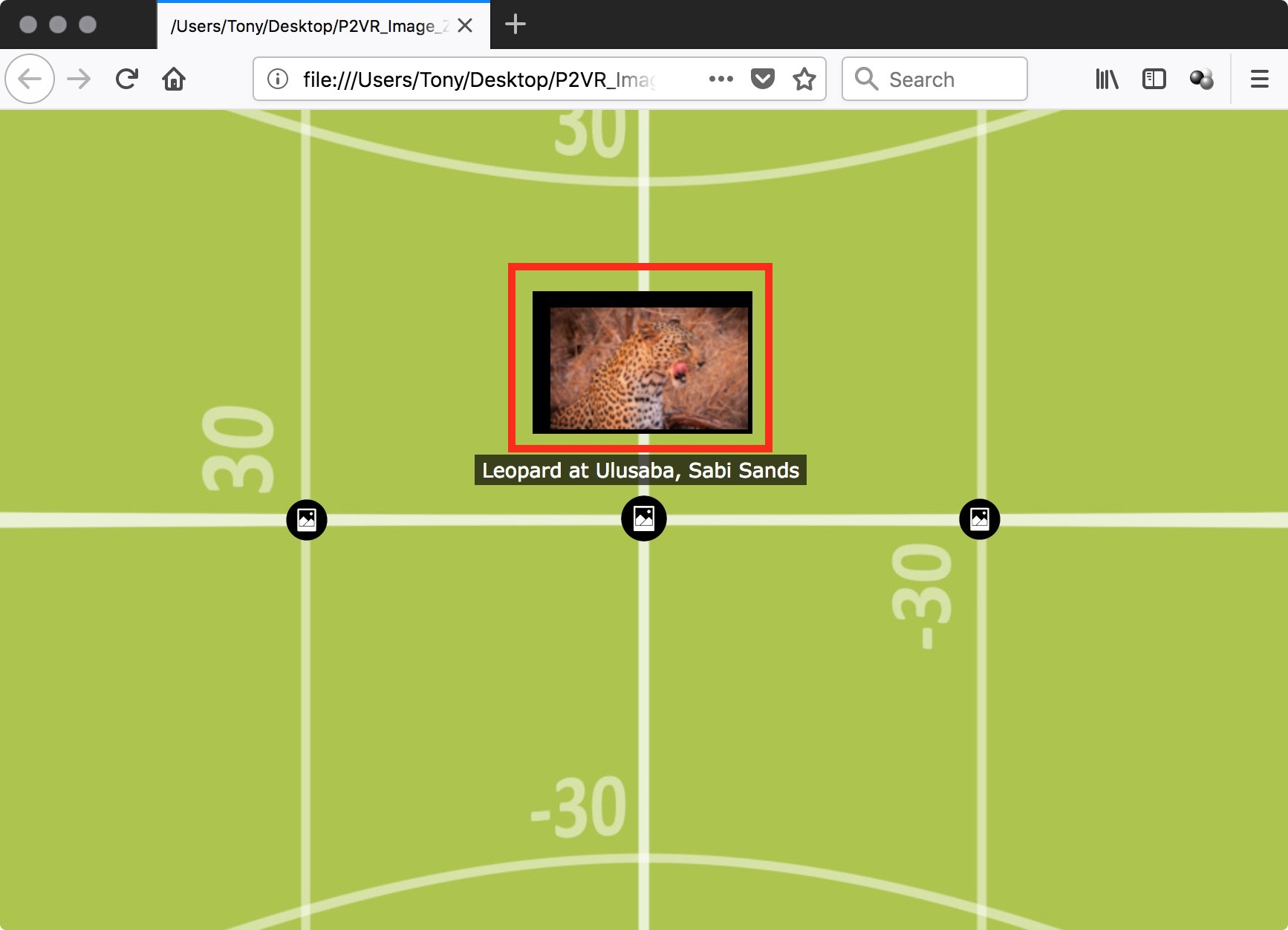 Figure 44: Thumbnail view issue in Firefox