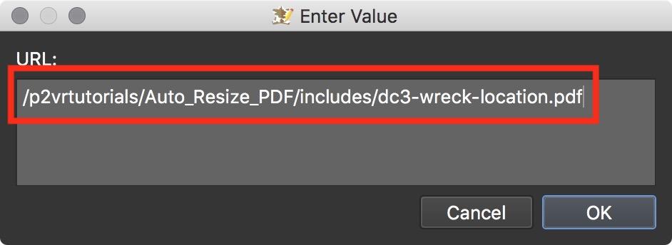 Figure #33: URL to the pdf file