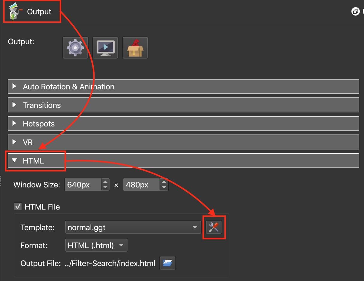 Figure #5: Edit Template button