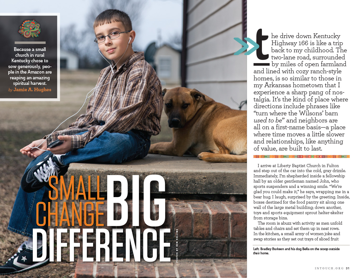 Client: In Touch Magazine