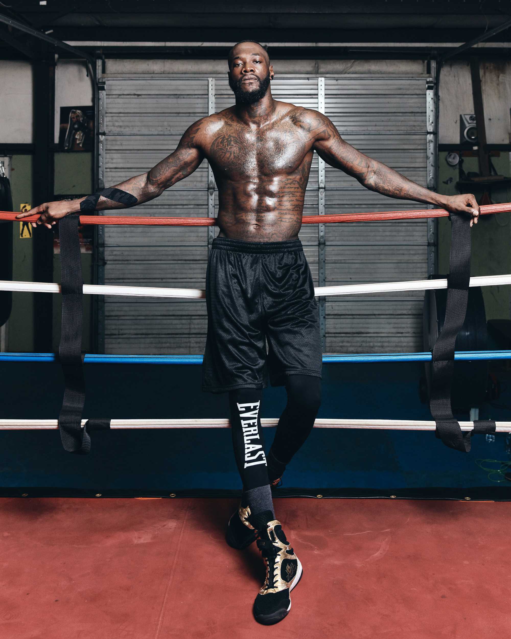 Sunday Times, Deontay Wilder