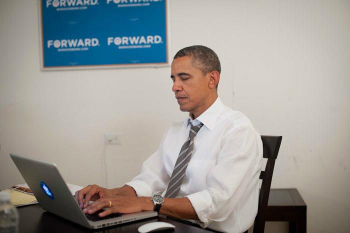 Mr. Obama during his AMA
