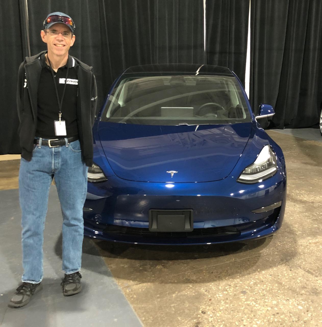 My Tesla.