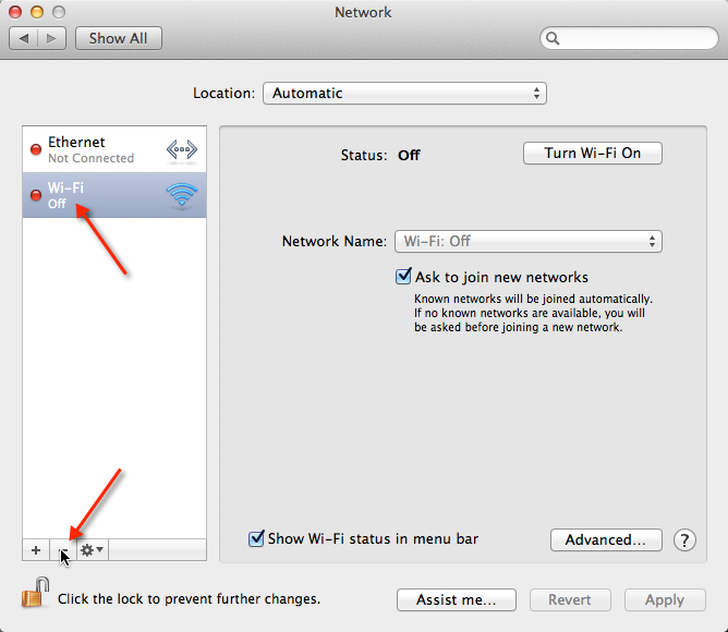 Remove Wireless Adapter from OS X