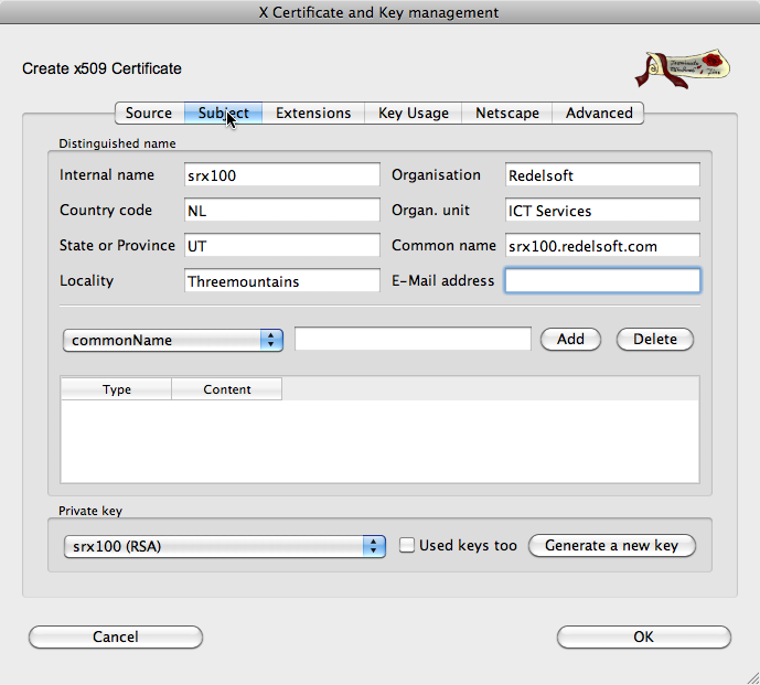 Configure SSL Certificate for Juniper J-Web Interface — REDELIJKHEID