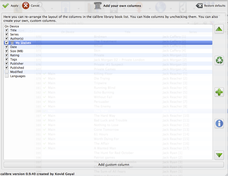 Kobo Glo eBook Library Management With Calibre — REDELIJKHEID