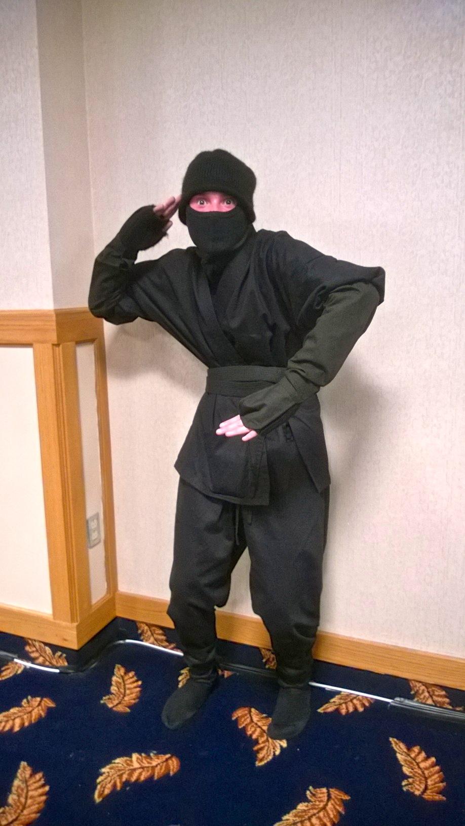 Ninja! He had good moves!