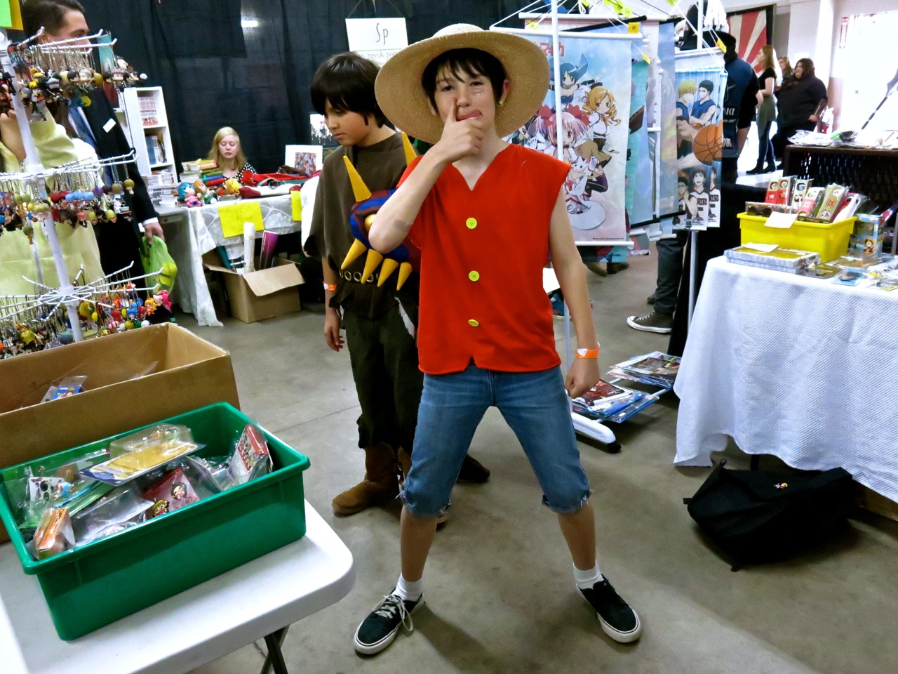 Here's Luffy from  One Piece !