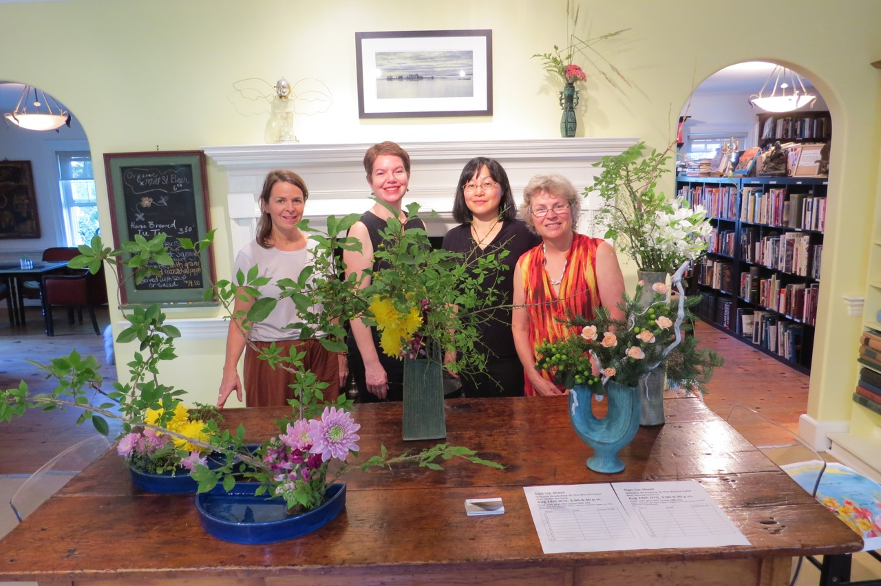 L-R: Susan, Cara (co-owner of The Biscuit Eater), Miyako and Val.