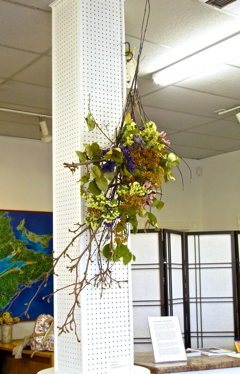 Hanging Arrangement by Susan Robertson.