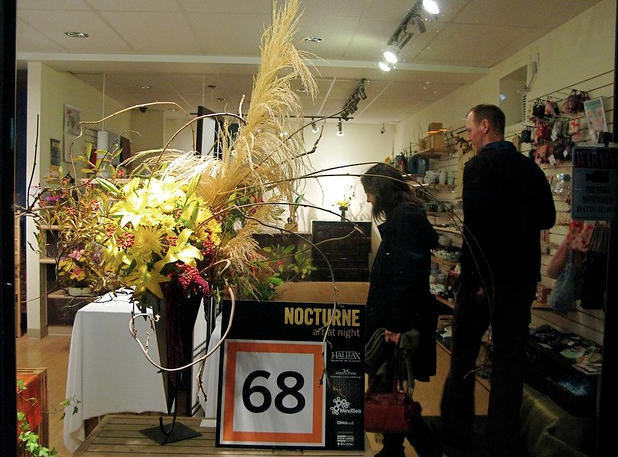 Nocturne 2011. October, 2011 at the ikebana shop.
