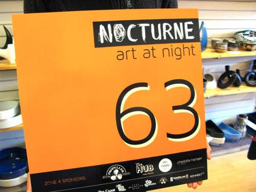 Nocturne 2012. October, 2012 at the ikebana shop.