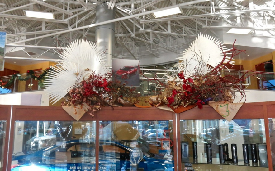Ikebana at Toyota Halifax.  December, 2015.